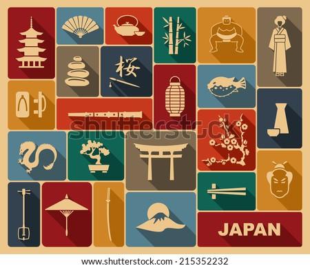 japan icons