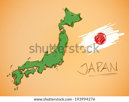 Japanese Map Vector Download Free Vector Art Stock Graphics - Japan map vector free download