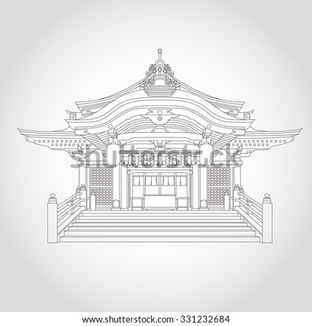 japan traditional building