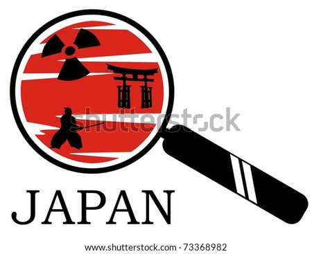 japan under magnifying glass
