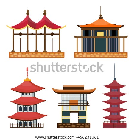 japan vector collection