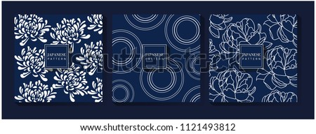 Japanese Blue Pattern
