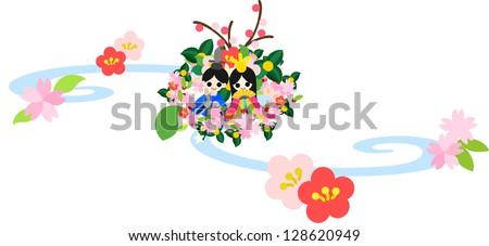 japanese celebrate the girls'