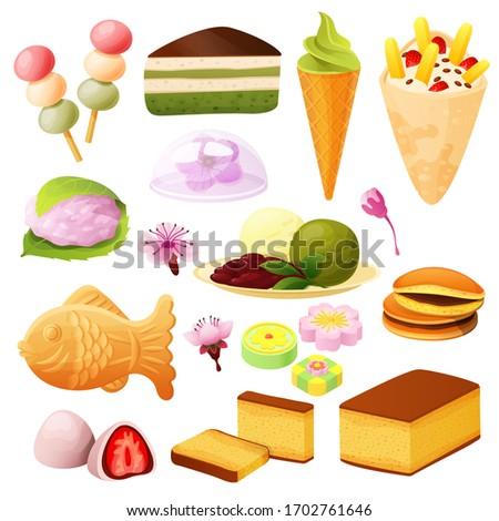 japanese dessert collection
