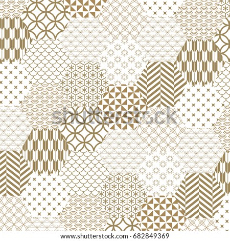 japanese gold background and