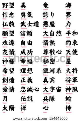 japanese kanji vol2   serif