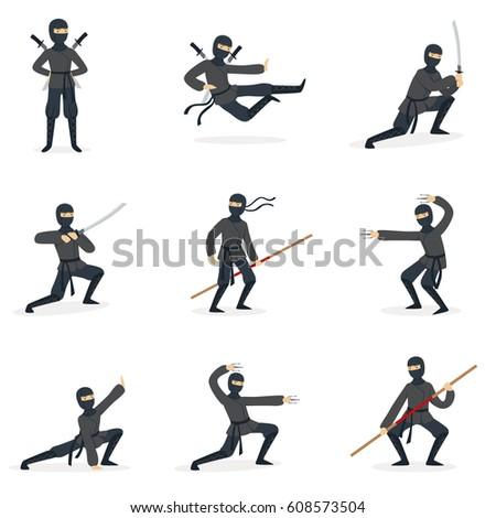 japanese ninja assassin in full