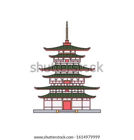 japanese pagoda building