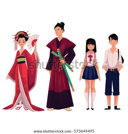 japanese people   geisha and