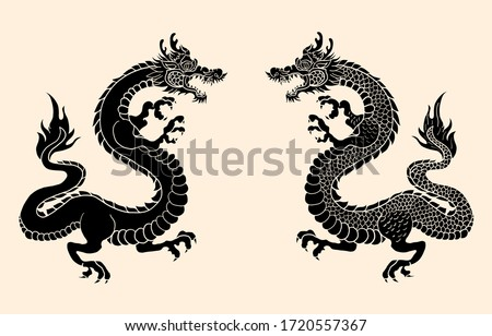 japanese red dragon tattoo
