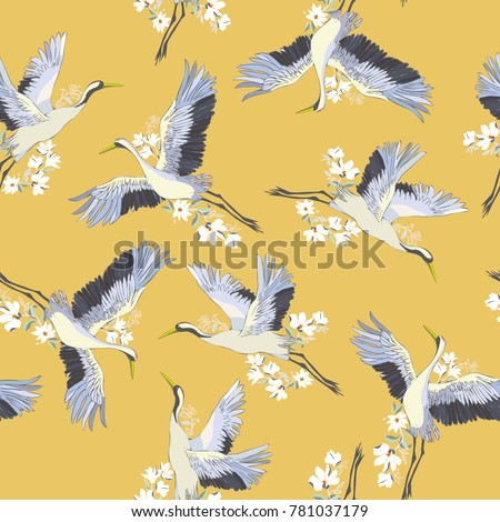japanese seamless pattern of