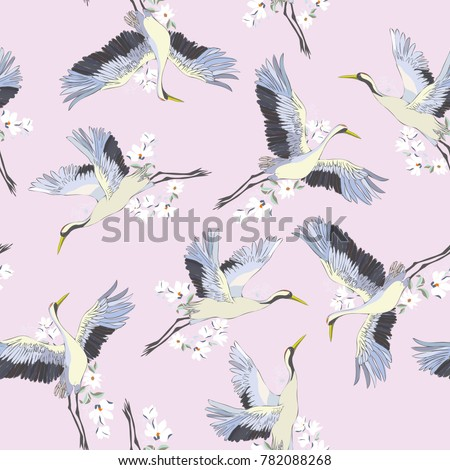 japanese seamless pattern of