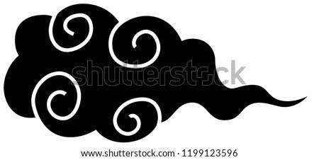 japanese style cloud