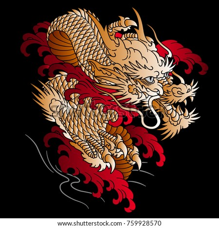 japanese style dragon