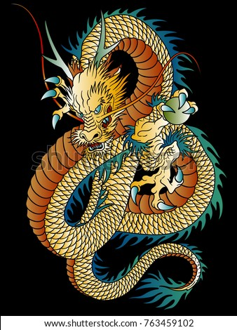 japanese style dragon