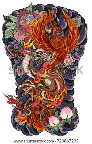 japanese tattoo design full