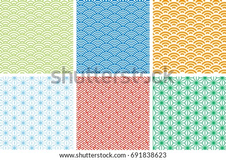 japanese traditional pattern 01