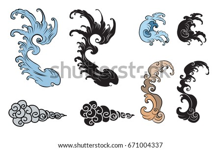Japanese Tattoo Design Download Free Vector Art Stock Graphics
