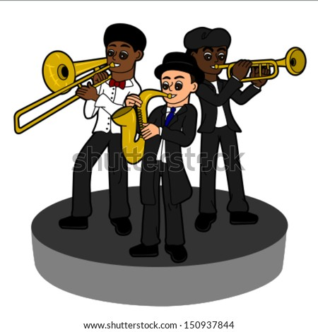 ECC Cartoonbooks Club: Jazz - by Blachon, Bridenne and Samson