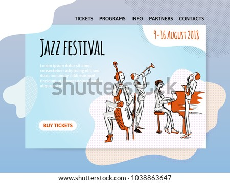 jazz music festival  quartet in