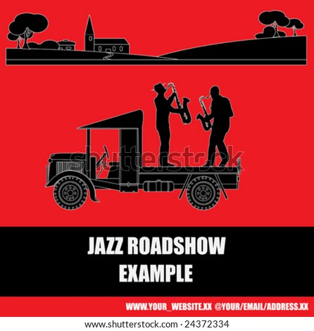 Jazz Roadshow Flyer