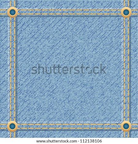 jeans texture for design vector illustration