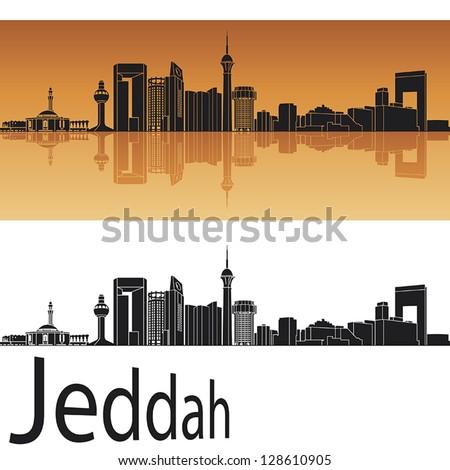 Vector images illustrations and cliparts jeddah skyline for Art cuisine jeddah