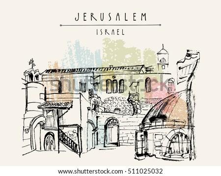 jerusalem  israel handmade