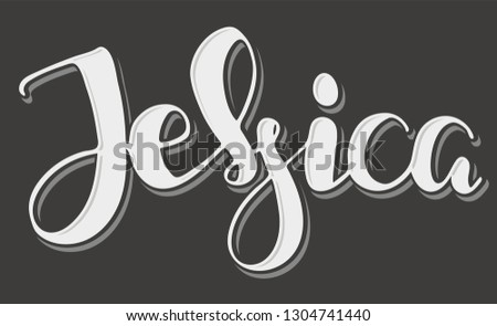 jessica woman's name hand