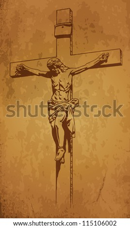 Jesus Christ crucifix blessing cross Christianity