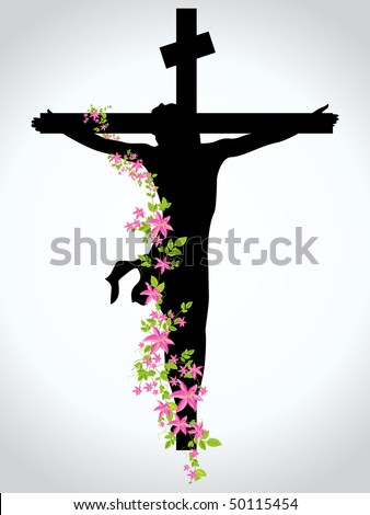 stock vector : jesus christ in