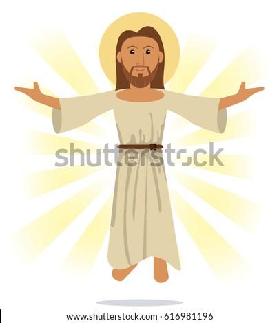 jesus christ religious symbol