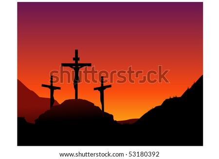 Jesus death on the cross
