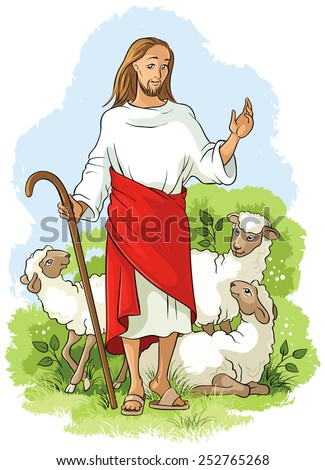 jesus is a good shepherd also