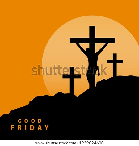 jesus three crosses on golgota
