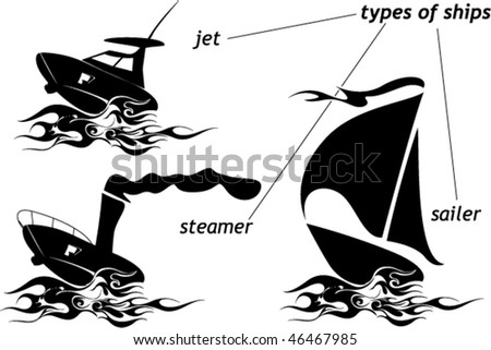 jet boat steamer and sailer