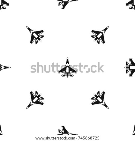 jet fighter plane pattern