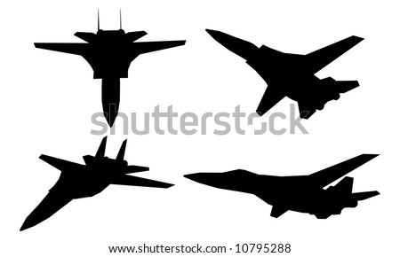 Jet Fighter (vector)