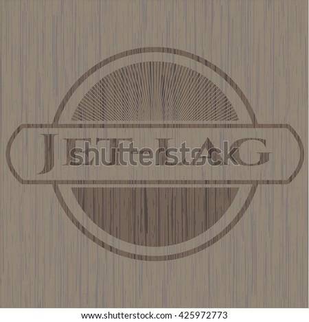 Jet-lag realistic wood emblem