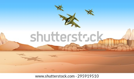 jet planes flying over the