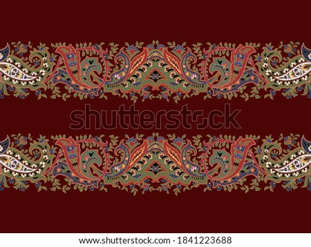 Jewel style border vector for your design
