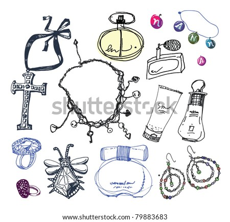 Jewelry collection.