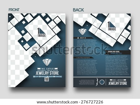 Abstract Light Business Flyer Template  Download Free Vector Art
