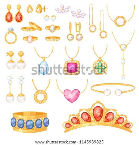 jewelry vector jewellery gold