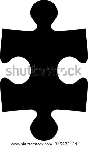 Jig saw puzzle piece / Puzzle piece