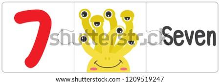 jigsaw eye monster   seven