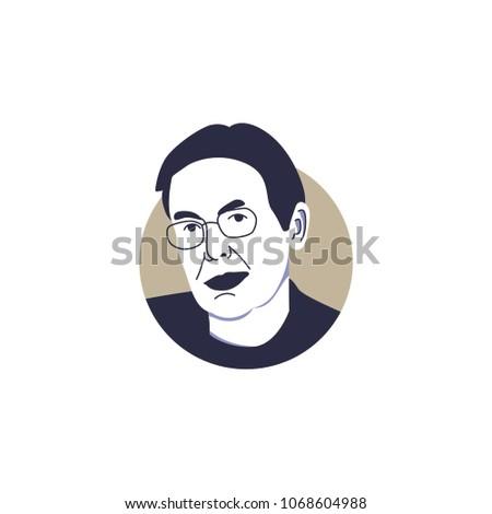jim walton vector illustration