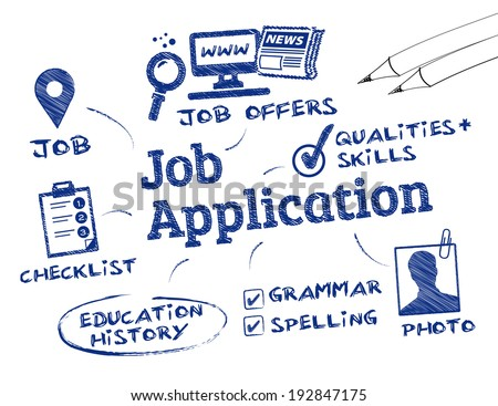 job application   chart with