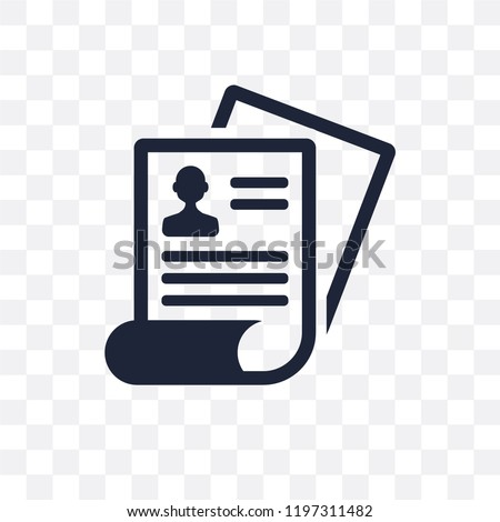 job Application transparent icon. job Application symbol design from Human resources collection.