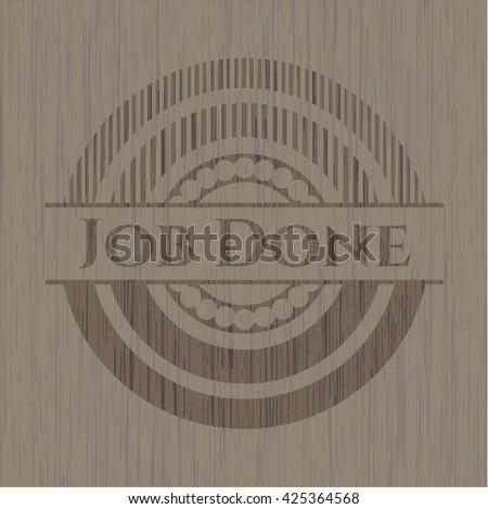Job Done wood emblem